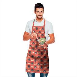 Фартук кулинарный Хипстер 4 цвета 3D — фото 2