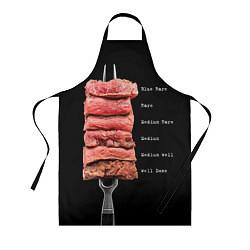 Фартук кулинарный Степени прожарки 2 цвета 3D — фото 1