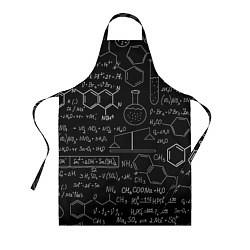 Фартук кулинарный Химия цвета 3D — фото 1
