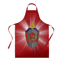 Фартук кулинарный КГБ цвета 3D — фото 1