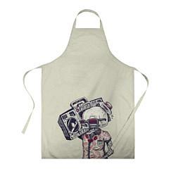 Фартук кулинарный Череп цвета 3D — фото 1