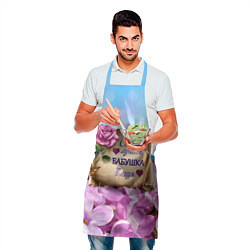 Фартук кулинарный Лучшая Бабушка цвета 3D — фото 2