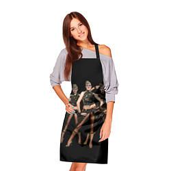 Фартук кулинарный Армейские девушки цвета 3D — фото 2