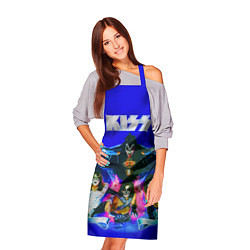 Фартук кулинарный Kiss Show цвета 3D — фото 2