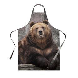 Фартук кулинарный Русский медведь цвета 3D — фото 1