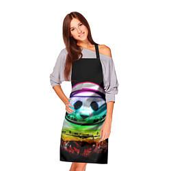 Фартук кулинарный Панда космонавт цвета 3D — фото 2