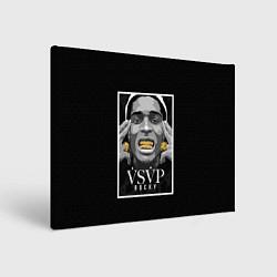 Холст прямоугольный ASAP Rocky: Gold Edition цвета 3D — фото 1