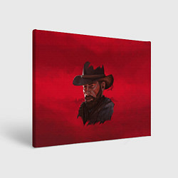 Холст прямоугольный Red Dead Redemption цвета 3D — фото 1