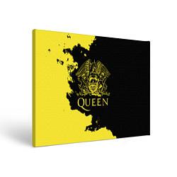 Холст прямоугольный Queen цвета 3D — фото 1