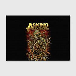 Холст прямоугольный Asking Alexandria цвета 3D-принт — фото 2