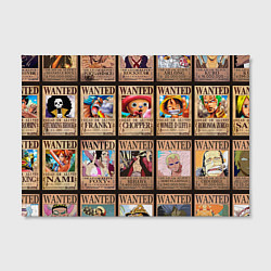 Холст прямоугольный One Piece цвета 3D-принт — фото 2