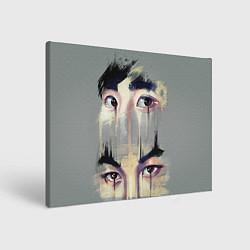 Холст прямоугольный EXO Eyes цвета 3D-принт — фото 1