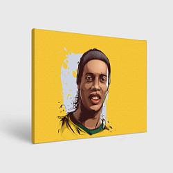 Холст прямоугольный Ronaldinho Art цвета 3D-принт — фото 1