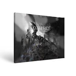 Холст прямоугольный Black Veil Brides: Faithless цвета 3D-принт — фото 1