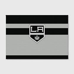 Холст прямоугольный Los Angeles Kings цвета 3D — фото 2