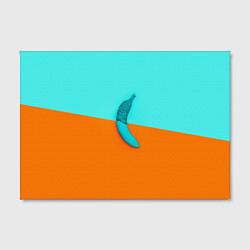 Холст прямоугольный Banana цвета 3D — фото 2