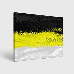 Холст прямоугольный Имперский флаг 1858 года цвета 3D — фото 1