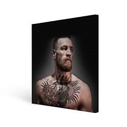 Холст квадратный Conor McGregor цвета 3D-принт — фото 1