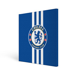 Холст квадратный FC Chelsea: Gold Lines цвета 3D — фото 1