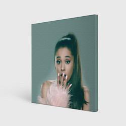 Холст квадратный Ariana Grande Ариана Гранде цвета 3D-принт — фото 1