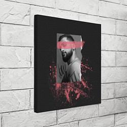 Холст квадратный JONY цвета 3D-принт — фото 2