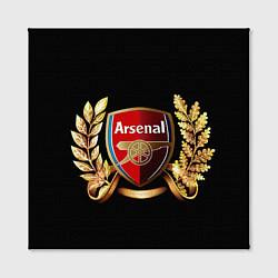Холст квадратный Arsenal цвета 3D — фото 2