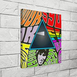 Холст квадратный Pink Floyd цвета 3D — фото 2