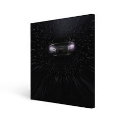Холст квадратный Audi цвета 3D — фото 1