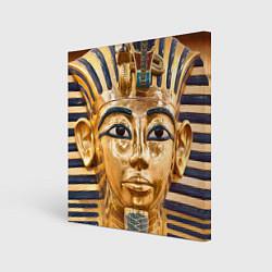 Холст квадратный Фараон цвета 3D-принт — фото 1