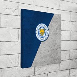 Холст квадратный Leicester City FC цвета 3D-принт — фото 2
