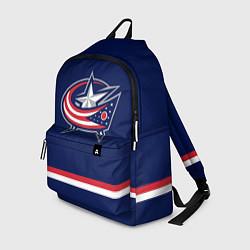 Рюкзак Columbus Blue Jackets цвета 3D — фото 1
