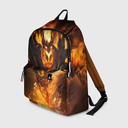 Рюкзак Nevermore Hell цвета 3D-принт — фото 1