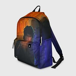Рюкзак Виктор Цой в ночи цвета 3D — фото 1
