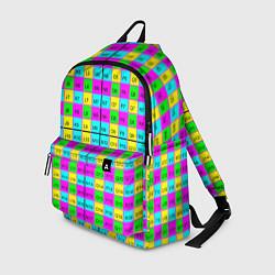 Рюкзак Тестовый яркий цвета 3D — фото 1