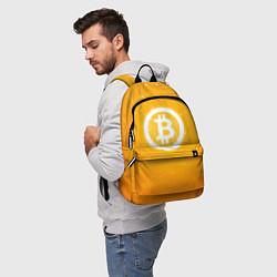 Рюкзак Bitcoin Orange цвета 3D-принт — фото 2