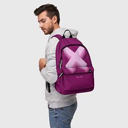 Рюкзак The XX: Purple цвета 3D — фото 2