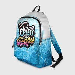 Рюкзак Free and Easy цвета 3D-принт — фото 1