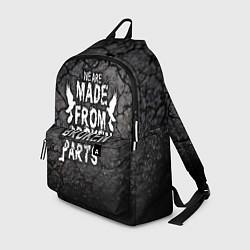 Рюкзак Made from broken parts цвета 3D-принт — фото 1