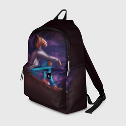 Рюкзак BoJack цвета 3D-принт — фото 1