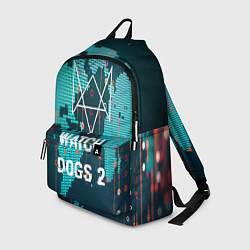 Рюкзак Watch Dogs 2: Network Hack цвета 3D-принт — фото 1