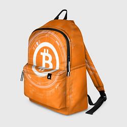 Рюкзак Bitcoin Tech цвета 3D-принт — фото 1