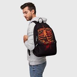 Рюкзак Человеческий скелет цвета 3D — фото 2