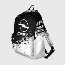 Рюкзак Opel: Black Spray цвета 3D-принт — фото 1