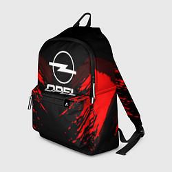 Рюкзак Opel: Red Anger цвета 3D — фото 1