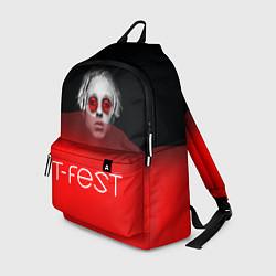 Рюкзак T-Fest: Red Style цвета 3D — фото 1