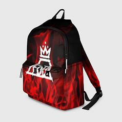Рюкзак Fall Out Boy: Red Flame цвета 3D-принт — фото 1