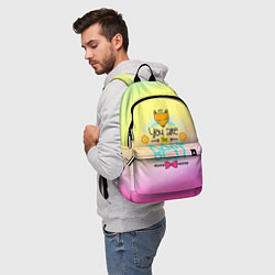Рюкзак You are the best цвета 3D-принт — фото 2