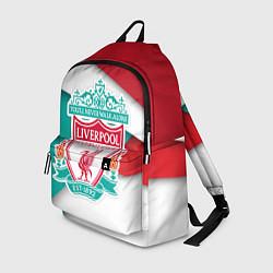 Рюкзак FC Liverpool цвета 3D-принт — фото 1