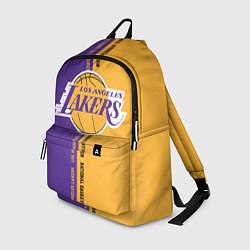 Рюкзак NBA: LA Lakers цвета 3D-принт — фото 1