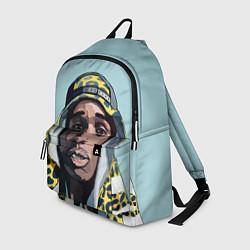 Рюкзак ASAP Rocky: Far East цвета 3D-принт — фото 1